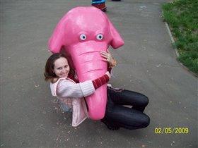 Розовый слоник!