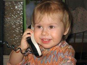 Звонок любимой бабуле :)