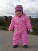 Маленькая модель в розовом!