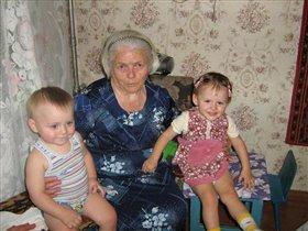 Прабабушке 80 лет!