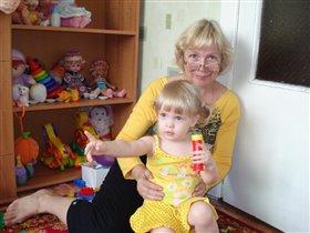 Я и моя бабулечка, красотулечка!