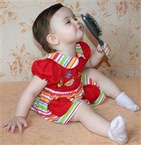 Мама, а если я причешусь, буду еще красивее?:),.