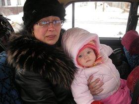 Александра с бабушкой