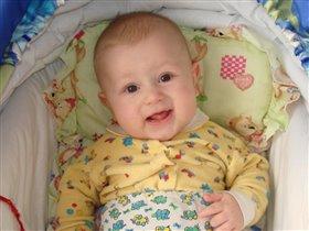 Никитке 5 месяцев
