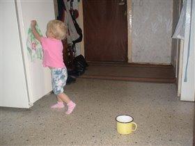 Сейчас вымою холодильник и примусь пылесосить!