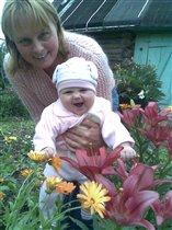 Каролина с бабушкой