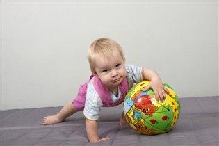Упражнения с мячом. Произвольная программа)))