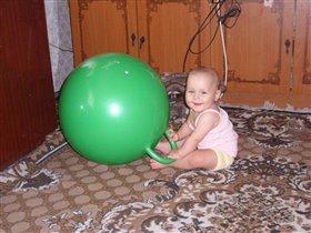 Занятие с мячом