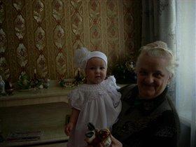 мы с бабулей вдвоем очень весело живем