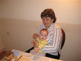У бабушки в гостях