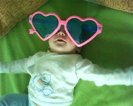 В розовых очках