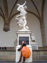 Флоренция, Лоджия-ланци, 'Похищение Сабинянок'