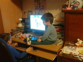 Продвинутая молодежь!)))