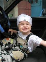 Юный автогонщик