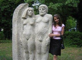 Вот такие смешные Адам и Ева