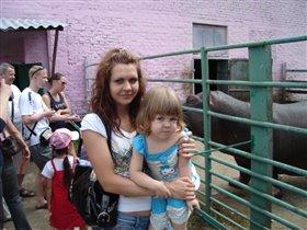 в большереченском зоопарке.бегемот