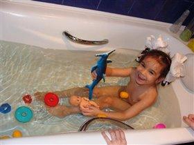 Первый раз в ванной