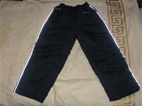 Утепленные брюки для мальчика на синтепоне
