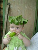 Зелень пузатая...