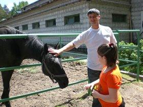 В Новосибирском зоопарке!