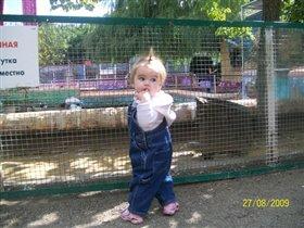 Мой первый поход в зоопарк!
