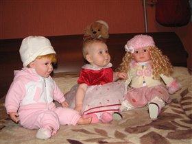 Я и мои куклы подружки! А кто есть кто???