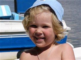 летний отдых на озере Силигер в июле 2009 г.