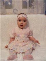 Моя маленькая моделька Анюта)