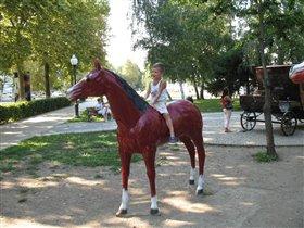 Я люблю свою лошадку...