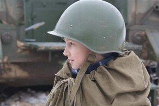 зимний танкист