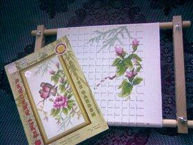 Райский сад. Весенний этюд. от Золотого руна. (В процессе)