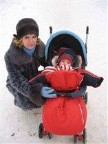 Нам мороз нипочем, с мамой мы гулять пойдем!