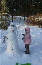 Встреча со снежным человеком.