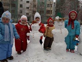 Первый снег!!!