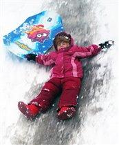 Без ледянки зимой никуда!