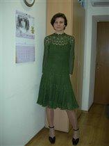 Платье в стиле Брюггского кружева