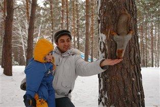 хорошо зимой в зимнем лесу....