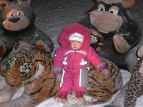 Тигр, мишка, два бычка - мои лучшие друзья!