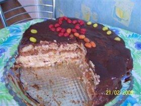 Торт 'Панчо', у нас в магазинах  значится как 'Мишка на севере'