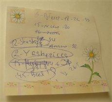 Моя ПЕРВАЯ 'Угадай-ка' в Сердечках 2009
