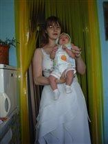 Стася с мамой