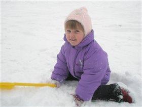 Люблю в снегу я отдыхать!!!