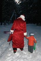 Доведу Дедулю после праздников до дома