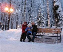 зимний вечер не в Гаграх :)