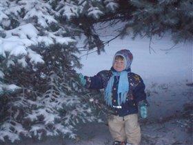 Сколько снегу намело-мама ку-ку!!!