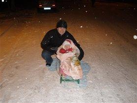 Машин первый снег