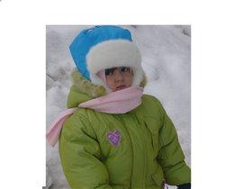 А зима была холодная!!!