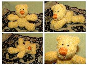 Желтый мишка Одуванчик.