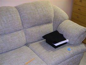 Мой любимый диванчик.