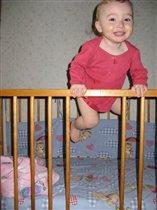 Эй, скорей смотрите детки, как я выпрыгну из клетки!!!